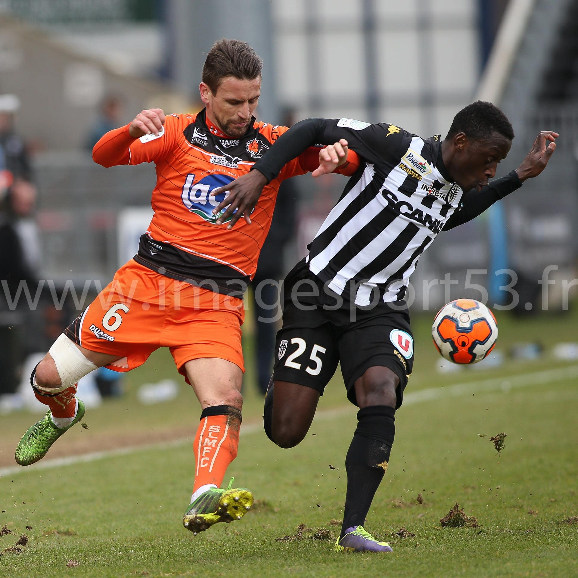 Angers SCO-Stade Lavallois