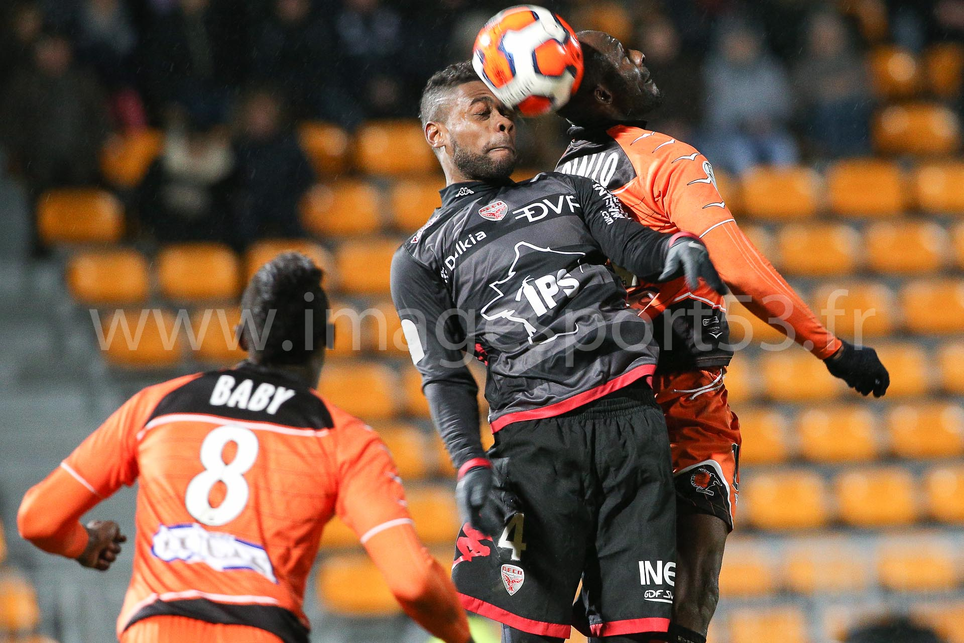 William REMY (Dijon FCO), Mamadou DIALLO (Stade Lavallois)