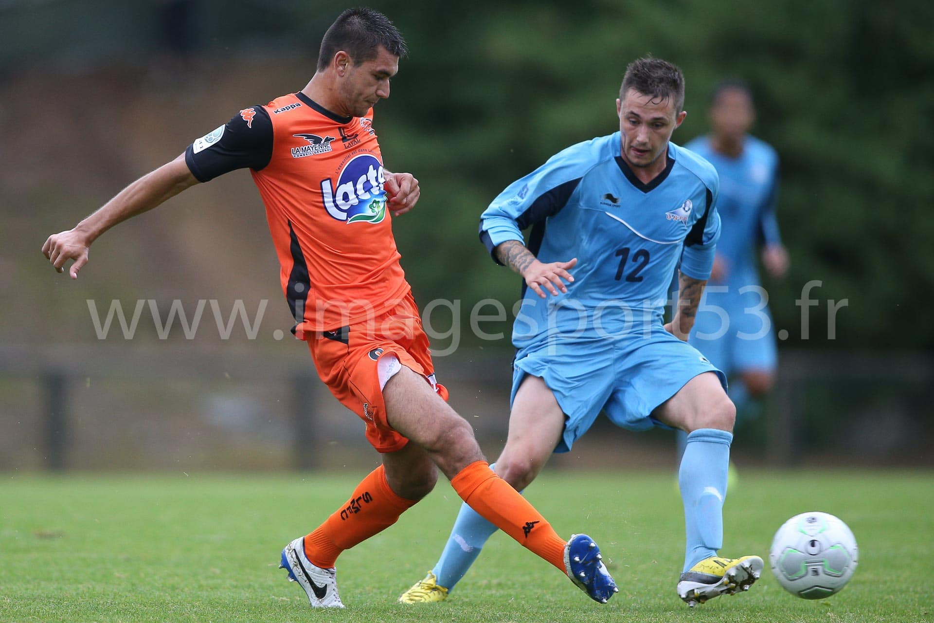 Adrien MONFRAY (Stade Lavallois), Dylan DELIGNY (UNFP)