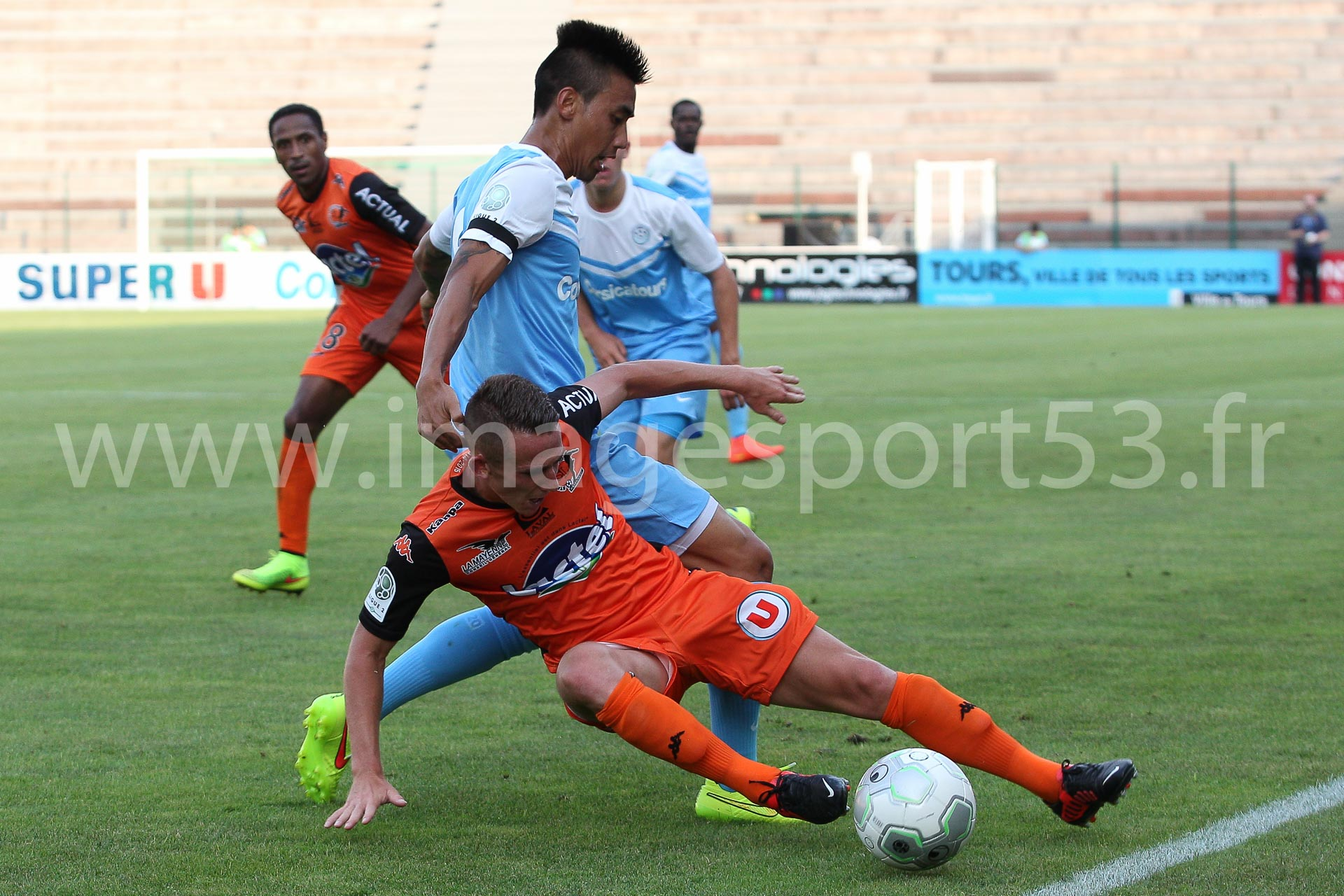NG-Ligue2-1415-Amical6_Tours-Laval_2