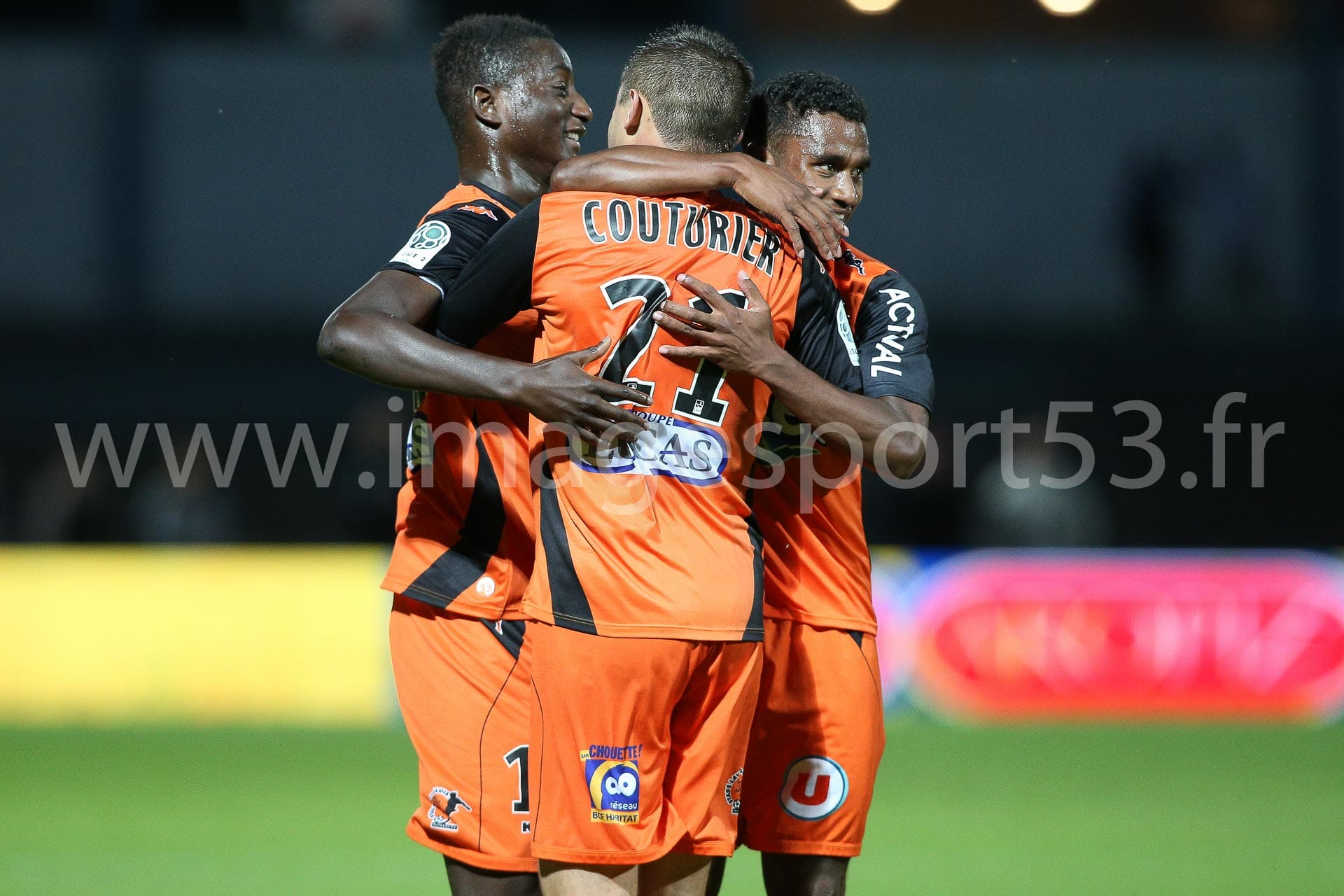 GUIRASSY, COUTURIER, ZEOULA (Stade Lavallois)
