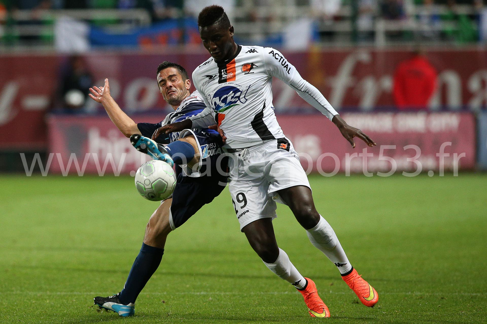 Guillaume LACOURT (ES Troyes AC), Sehrou GUIRASSY (Stade Lavallo