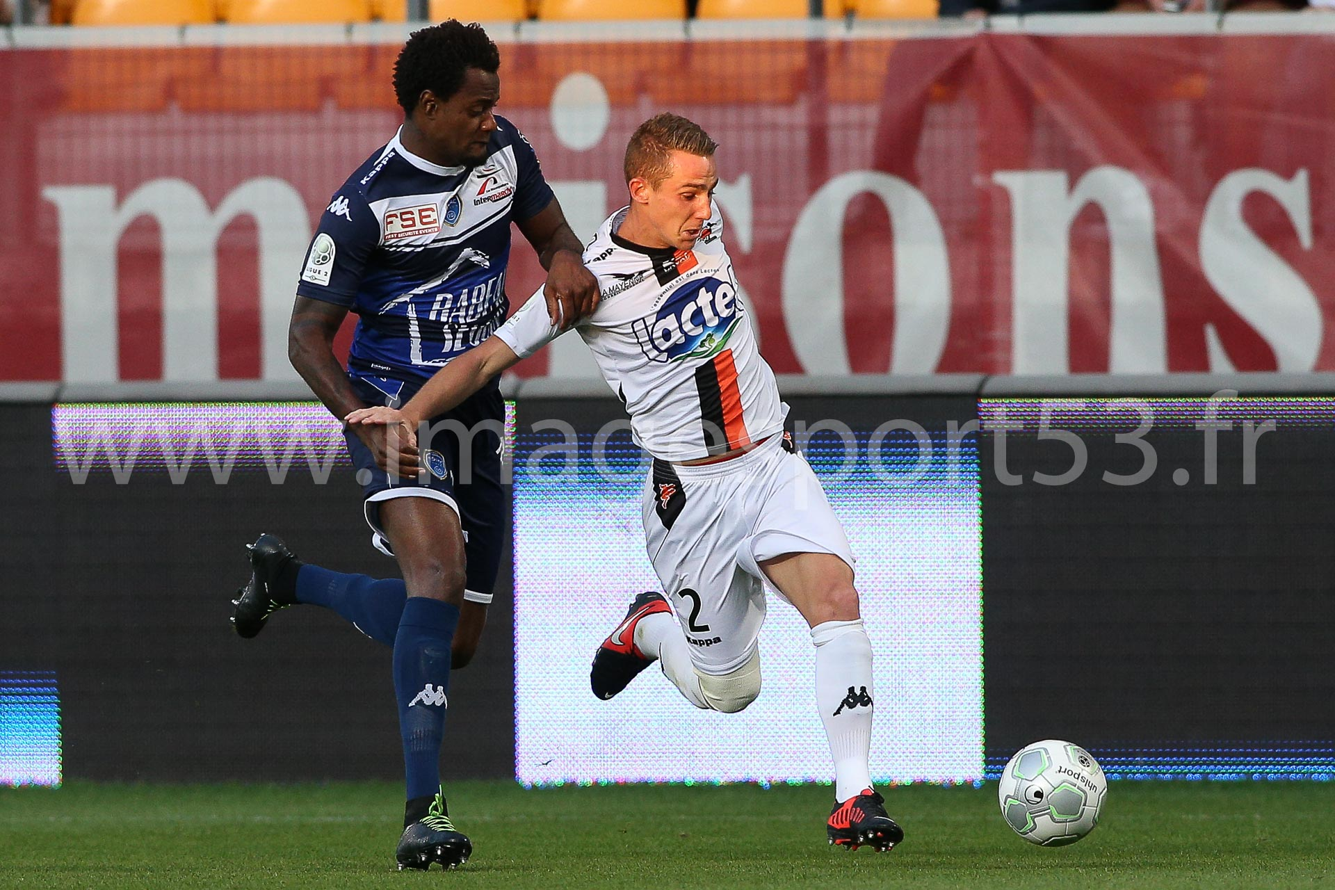 RINCON (ES Troyes AC), Kevin PERROT (Stade Lavallois)
