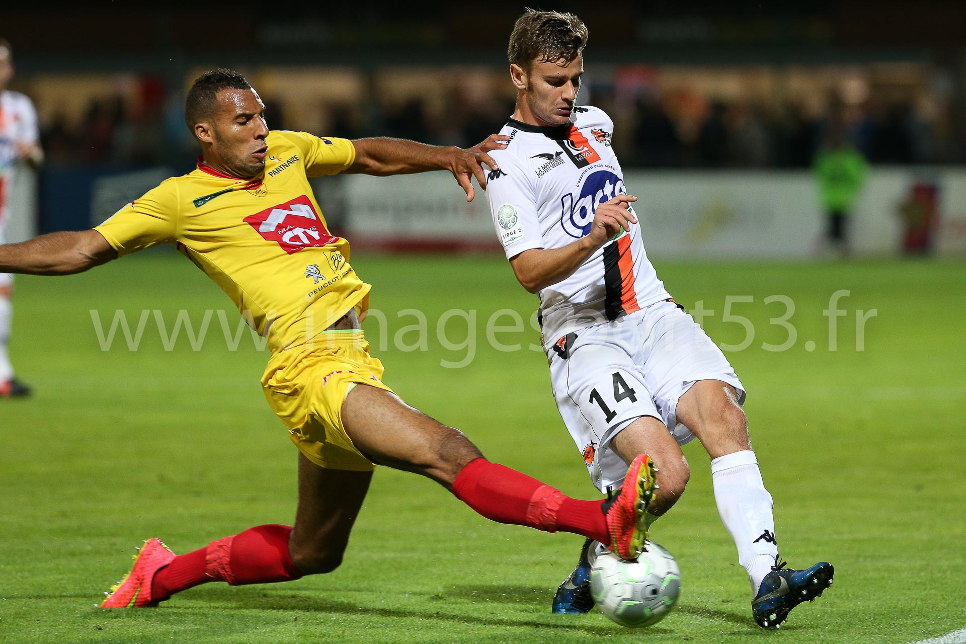 Wilfried LOUSY-DANIEL (US Orléans), Maxime BOURGEOIS (Stade Lav