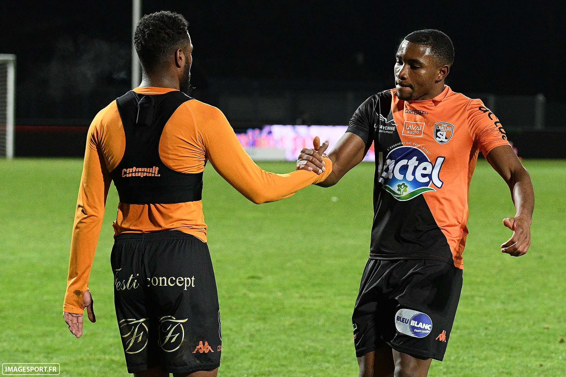 César ZEOULA (Stade Lavallois) / Sharly MABUSSI (Stade Lavallois)