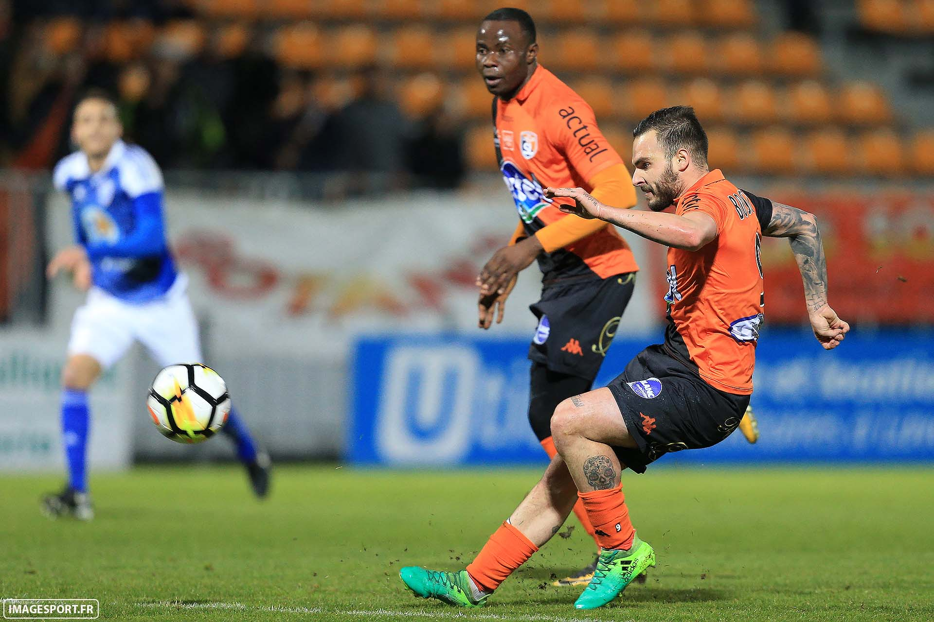 1er but Alexy BOSETTI (Stade Lavallois)
