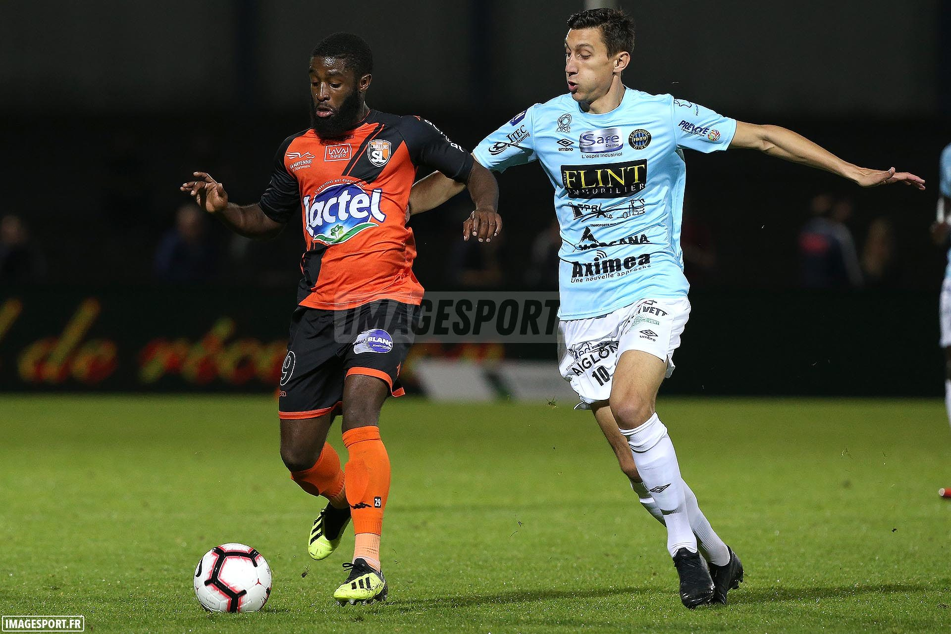 Stéphane LAMBESE (Stade Lavallois) / Guillaume HEINRY (FC Chambly Oise)